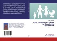 Capa do livro de Home Economics Education for Sustainable Development