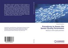 Обложка Procedures to Assess the Semen Quality Parameters