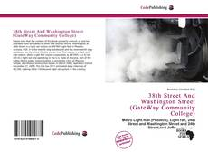 Buchcover von 38th Street And Washington Street (GateWay Community College)