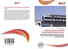 Capa do livro de Church Avenue (IRT Nostrand Avenue Line)