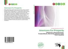 Copertina di Americans For Prosperity