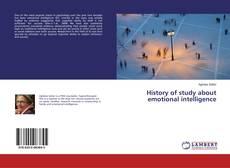 History of study about emotional intelligence的封面