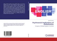 Buchcover von Psychosocial Implications of Globalization