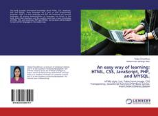 Copertina di An easy way of learning: HTML, CSS, JavaScript, PHP, and MYSQL.