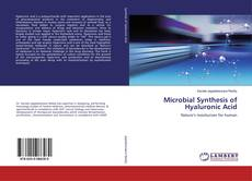 Обложка Microbial Synthesis of Hyaluronic Acid