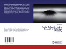 Capa do livro de Social Solidarity in the Context of Religious Diversity