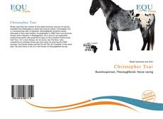 Christopher Tsui kitap kapağı