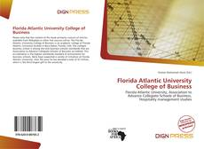 Bookcover of Florida Atlantic University College of Business