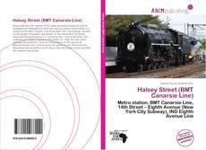 Buchcover von Halsey Street (BMT Canarsie Line)