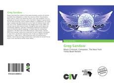 Copertina di Greg Sandow