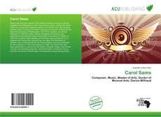 Bookcover of Carol Sams