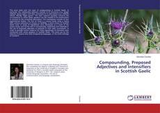 Portada del libro de Compounding, Preposed Adjectives and Intensifiers in Scottish Gaelic