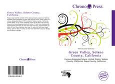 Buchcover von Green Valley, Solano County, California