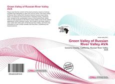 Bookcover of Green Valley of Russian River Valley AVA