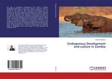 Buchcover von Endogenous Development and culture in Zambia