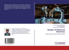 Bookcover of Design of Electrical Machines