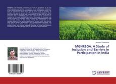 Capa do livro de MGNREGA: A Study of Inclusion and Barriers in Participation in India
