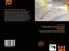 Couverture de Australian Government Solicitor