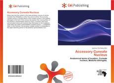 Copertina di Accessory Cuneate Nucleus