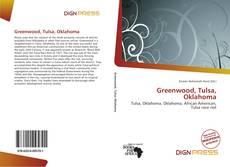 Capa do livro de Greenwood, Tulsa, Oklahoma