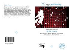 Обложка Julia Perry