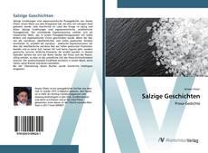 Capa do livro de Salzige Geschichten