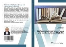 Portada del libro de Wahrscheinlichkeitsrechnung und mathematische Statistik