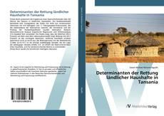 Bookcover of Determinanten der Rettung ländlicher Haushalte in Tansania