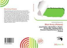 Buchcover von Blue Army (Poland)