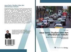 Portada del libro de neue Serie: Studien über den öffentlichen Verkehr
