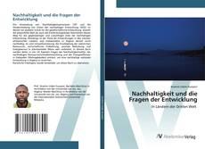 Capa do livro de Nachhaltigkeit und die Fragen der Entwicklung