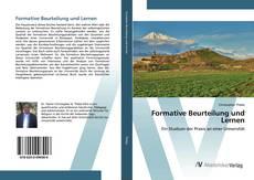 Formative Beurteilung und Lernen kitap kapağı