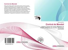 Couverture de Contrat de Mandat