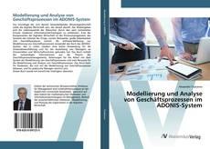 Copertina di Modellierung und Analyse von Geschäftsprozessen im ADONIS-System