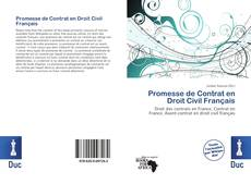 Bookcover of Promesse de Contrat en Droit Civil Français