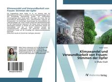 Buchcover von Klimawandel und Verwundbarkeit von Frauen: Stimmen der Opfer
