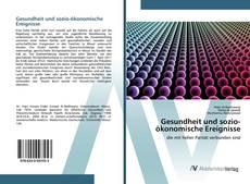 Capa do livro de Gesundheit und sozio-ökonomische Ereignisse