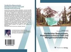 Обложка Verdecktes Bewusstsein, Protobewusstseins-Feld und Mengenwahrnehmung