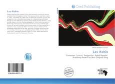 Capa do livro de Leo Robin