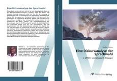 Capa do livro de Eine Diskursanalyse der Sprachwahl