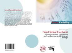 Capa do livro de Forest School (Horsham)