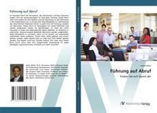 Capa do livro de Führung auf Abruf