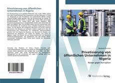 Bookcover of Privatisierung von öffentlichen Unternehmen in Nigeria