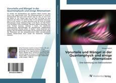 Buchcover von Vorurteile und Mängel in der Quantenphysik und einige Alternativen