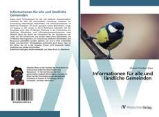 Bookcover of Informationen für alle und ländliche Gemeinden