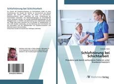 Capa do livro de Schlafstörung bei Schichtarbeit