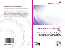Portada del libro de ARA Almirante Brown (D-10)