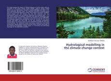 Couverture de Hydrological modelling in the climate change context