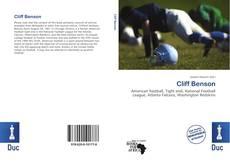 Bookcover of Cliff Benson