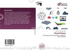 Bookcover of David Noon